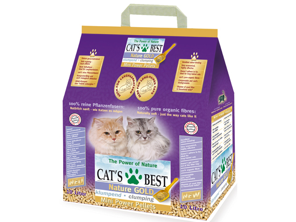 Cat´s Best Nature Gold 10 L stelivo