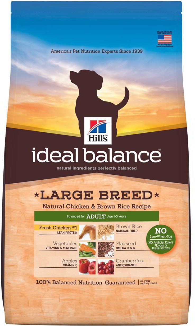 Hill's Canine Ideal Balance Adult Large Chicken&Brown Rice 12kg