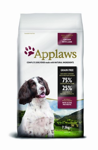 Applaws Dog Adult Small & Medium Breed Chicken with Lamb 2kg