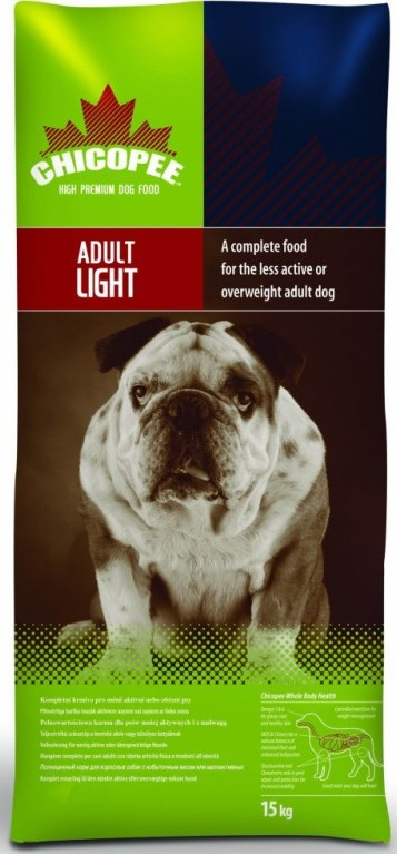 Chicopee Dog Dry Adult Light 15kg