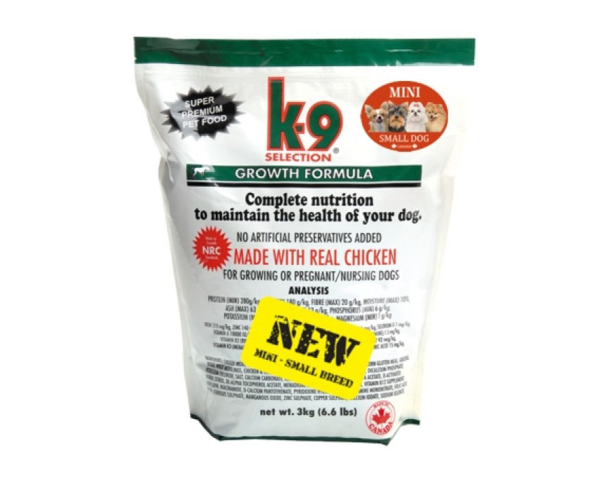 K-9 Growth Small Breed 3kg