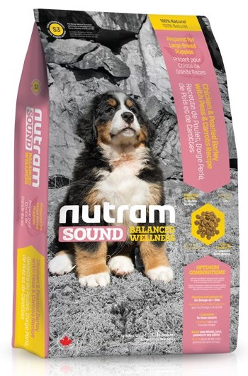 S3 Nutram Sound Puppy Large Breed 13,6kg