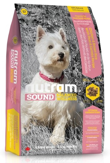 S7 Nutram Sound Adult Dog Small Breed 2,72kg