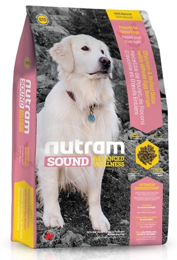 S10 Nutram Sound Senior Dog 13,6kg