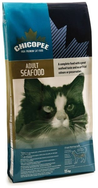 Chicopee Cat Dry Adult Seafood 15kg