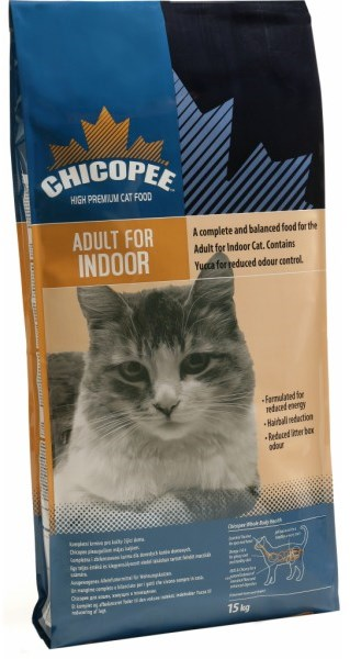 Chicopee Cat Dry Adult Indoor 15kg