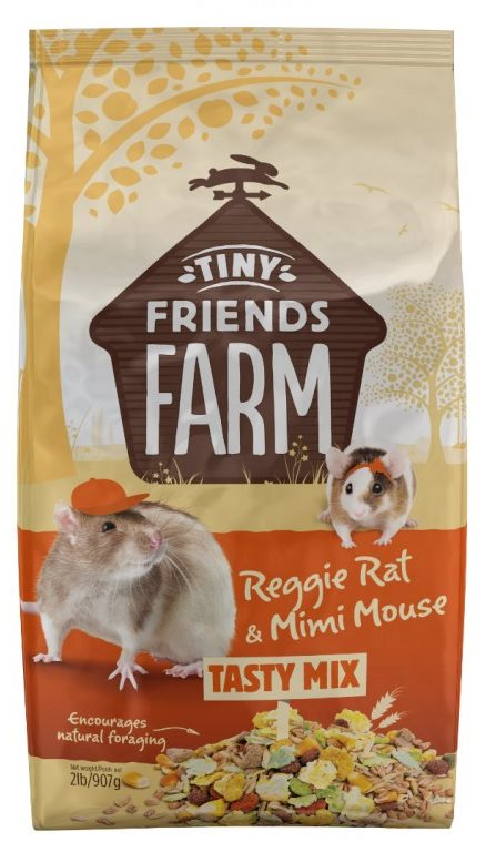 Supreme Tiny Farm Friends Rat & Mouse - potkan a myš 907g
