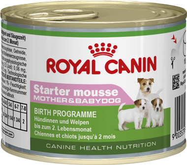 Royal Canin Mini Starter Mousse 195g