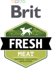 Brit Dog Fresh konzerva Turkey with Peas 400g