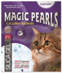 Magic Pearls Lavender kočkolit s vůní levandule 7,6l