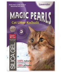 Magic Pearls Lavender kočkolit s vůní levandule 16l