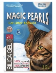 Magic Pearls Ocean Breeze kočkolit s vůní 16l