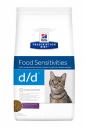 Hill's Feline D/D Dry Duck&Green Pea 1,5kg