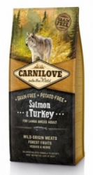 Carnilove Salmon & Turkey for LB Adult 12kg