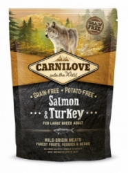 Carnilove Salmon & Turkey for LB Adult 1,5kg