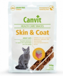 Canvit Snacks Cat Health Care Snack Skin & Coat 100g