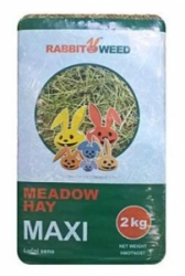 RabbitWeed seno luční maxi 2kg 100 l