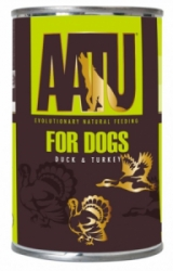 AATU Dog Duck and Turkey konzerva 400g