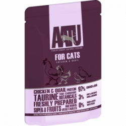 AATU Cat Chicken n Quail kapsička 85g