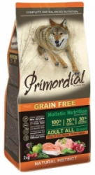 Primordial GF Dog Adult Chicken & Salmon 2kg