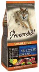 Primordial GF Dog Adult Tuna & Lamb 12kg