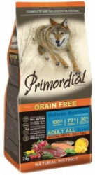 Primordial GF Dog Adult Trout & Duck 12kg