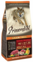 Primordial GF Dog Adult Bufallo & Mackerel 12kg