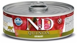 N&D CAT QUINOA Urinary Duck & Cranberry 80g