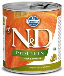 N&D DOG PUMPKIN Adult Duck & Pumpkin 285g