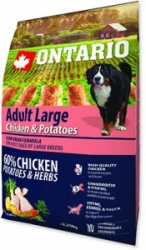 ONTARIO Adult Large Chicken & Potatoes & Herbs 2,25kg