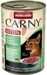 Animonda Cat Carny Kitten kuře+králík 400g