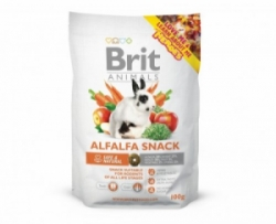 Brit Animals Alfalfa Snack for Rodents pamlsek pro hlodavce 100g