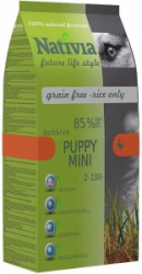 Nativia Puppy Mini Duck & Rice 3kg