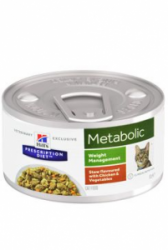 Hill's Feline konzerva Metabolic Chicken stew 82g