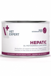 VetExpert VD 4T Hepatic Dog konzerva 200g