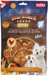 Nobby StarSnack Chicken Cover Bone kostičky 70g