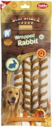 Nobby StarSnack Wrapped Rabbit XL pamlsky 25cm 4ks 270g