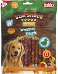 Nobby StarSnack Wrapped Duck 45ks 375g