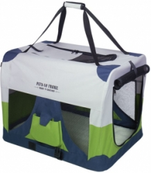 Nobby Traveller S Fashion nylonový box kennelka 50x35x35cm