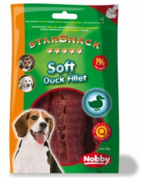 Nobby StarSnack Soft Duck Fillet měkké kachní filetky 70g