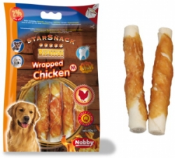 Nobby StarSnack Barbecue Wrapped Chicken Medium 13cm / 150g