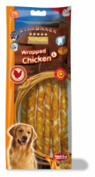 Nobby StarSnack Barbecue Wrapped Chicken Large 25cm 144g