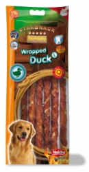 Nobby StarSnack Barbecue Wrapped Duck Large 25cm 128g