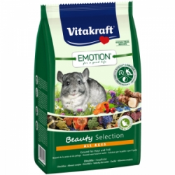 Vitakraft Rodent Chinchilla Emotion Beauty krmivo pro činčily 600g