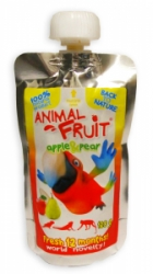 Animal Fruit kapsička pták jablko+hruška 120g