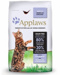 Applaws granule Cat Adult Kuře s kachnou 7,5kg