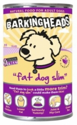 BARKING HEADS Fat Dog Slim konz. 400g
