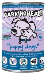 BARKING HEADS Puppy Days Salmon konz. 400g
