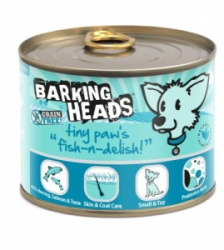 BARKING HEADS Tiny Paws Fish n Delish konz. 200g