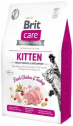 Brit Care Cat Grain-Free Kitten Healthy Growth & Development 2kg